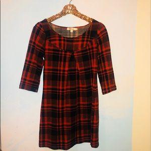 Dresses & Skirts - Orange and black shift dress
